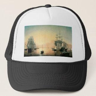 Fitz Hugh Lane Boston Harbor Trucker Hat