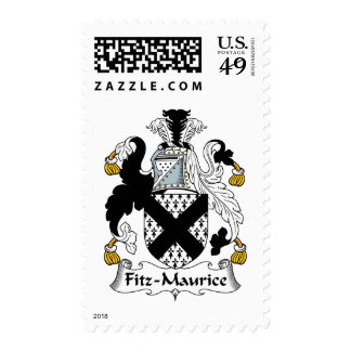 Fitz-Maurice Family Crest Postage Stamps