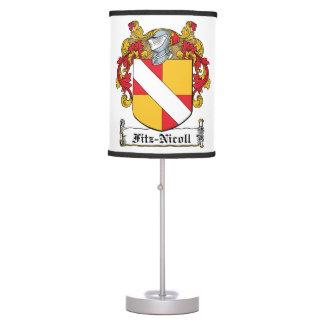 Fitz-Nicoll Family Crest Desk Lamp