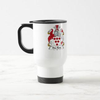 Fitz-Row Family Crest Coffee Mug