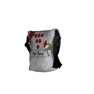 Fitz-Row Family Crest Courier Bag