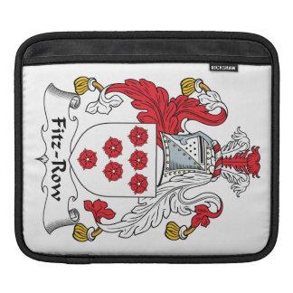 Fitz-Row Family Crest iPad Sleeves