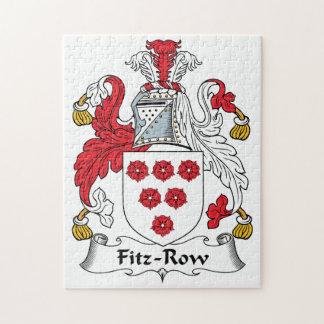 Fitz-Row Family Crest Jigsaw Puzzle