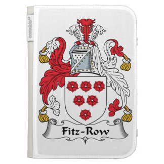 Fitz-Row Family Crest Kindle 3 Cover