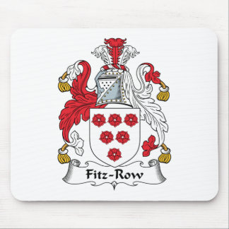 Fitz-Row Family Crest Mouse Mats