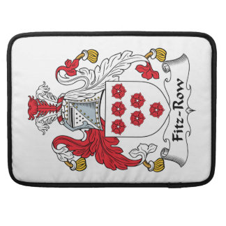 Fitz-Row Family Crest Sleeves For MacBooks