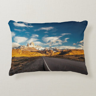 Fitz Roy In Morning Light Accent Pillow