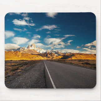 Fitz Roy In Morning Light Mouse Pad