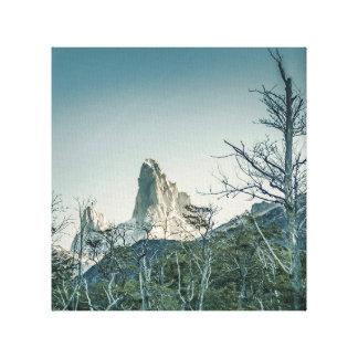 Fitz Roy Mountain, Patagonia - Argentina Canvas Print
