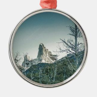 Fitz Roy Mountain,  Patagonia - Argentina Metal Ornament