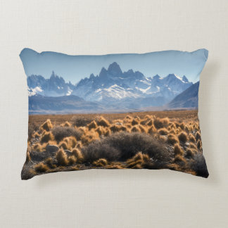 Fitz Roy, Patagonia, Argentina Accent Pillow