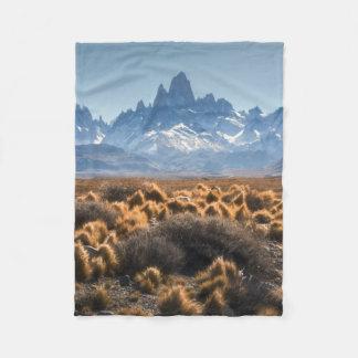 Fitz Roy, Patagonia, Argentina Fleece Blanket