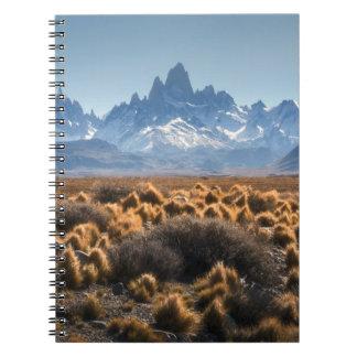 Fitz Roy, Patagonia, Argentina Spiral Notebook