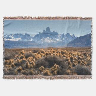 Fitz Roy, Patagonia, Argentina Throw Blanket