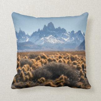 Fitz Roy, Patagonia, Argentina Throw Pillow