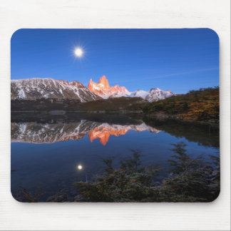 Fitz Roy'S Reflection Mouse Pad