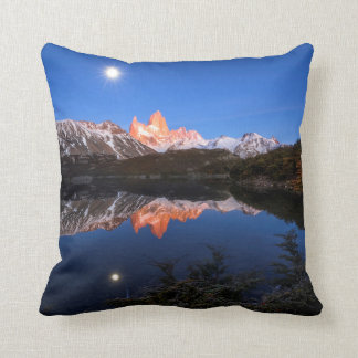 Fitz Roy'S Reflection Pillow