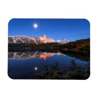 Fitz Roy'S Reflection Rectangular Photo Magnet