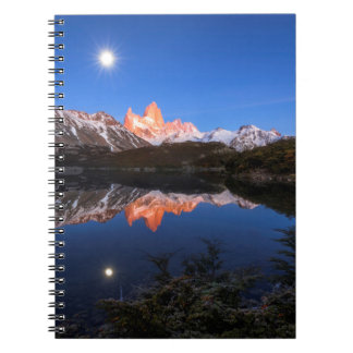 Fitz Roy'S Reflection Spiral Notebook
