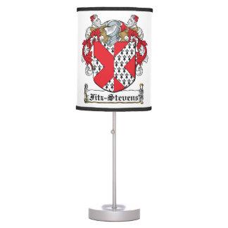 Fitz-Stevens Family Crest Table Lamp