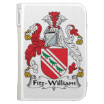 Fitz-William Family Crest Kindle 3 Cover