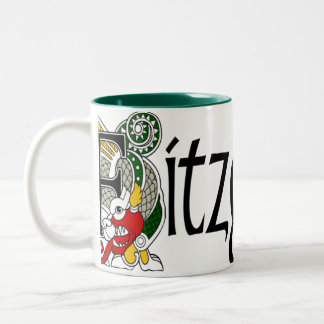 Fitzgerald Celtic Dragon Mug
