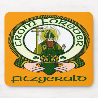 Fitzgerald Clan Motto Mouse Pad