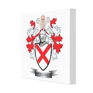 Fitzgerald Coat of Arms Canvas Print