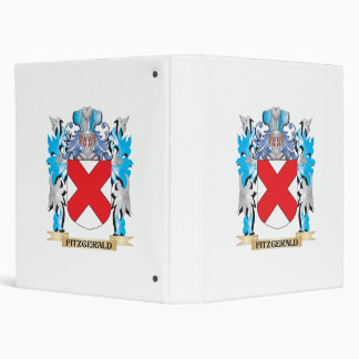 Fitzgerald Coat of Arms - Family Crest 3 Ring Binder