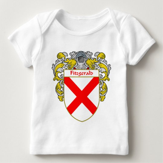 Fitzgerald Coat of Arms (Mantled) Baby T-Shirt