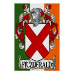 Fitzgerald Coat of Arms Print