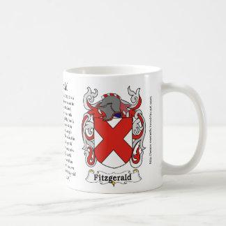Fitzgerald Family Coat of Arms mug