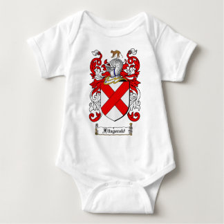 FITZGERALD FAMILY CREST -  FITZGERALD COAT OF ARMS BABY BODYSUIT
