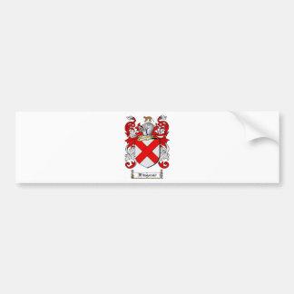 FITZGERALD FAMILY CREST -  FITZGERALD COAT OF ARMS BUMPER STICKER