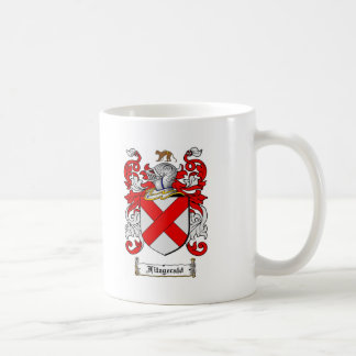FITZGERALD FAMILY CREST -  FITZGERALD COAT OF ARMS COFFEE MUG