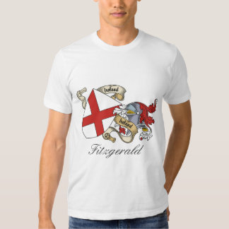 Fitzgerald Family Crest Tshirts