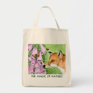 Fitzgerald Fox grocery tote Grocery Tote Bag