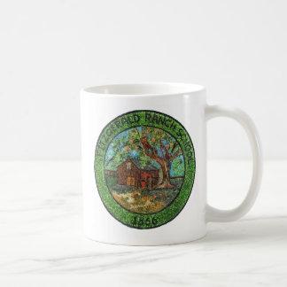 Fitzgerald Ranch School, 1866, Pinole California Classic White Coffee Mug
