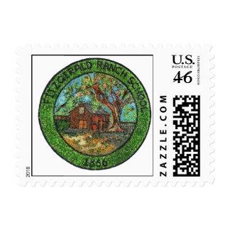 Fitzgerald Ranch School 1866 Pinole California Postage Stamp