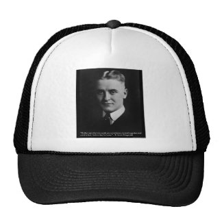 """Fitzgerald """"Two Souls"""" & Quote Tees & Gifts Trucker Hat"""