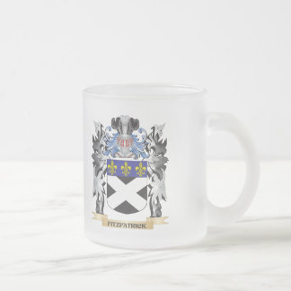 Fitzpatrick Coat of Arms - Family Crest 10 Oz Frosted Glass Coffee Mug
