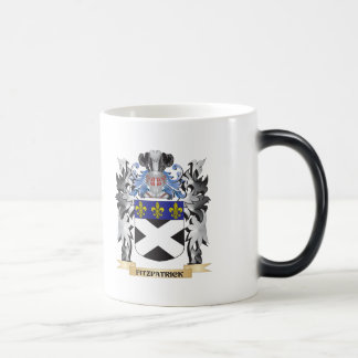 Fitzpatrick Coat of Arms - Family Crest 11 Oz Magic Heat Color-Changing Coffee Mug
