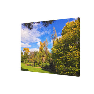 Fitzroy Gardens in East Melbourne Australia Canvas Print