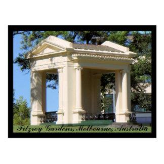 Fitzroy Gardens postcard