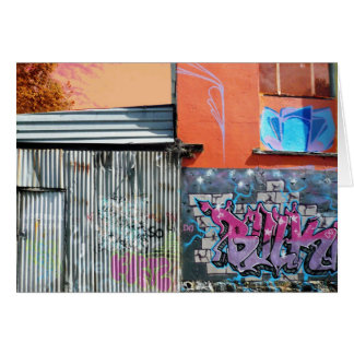 Fitzroy Graffiti Card