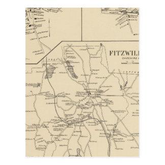 Fitzwilliam, Cheshire Co Postcard