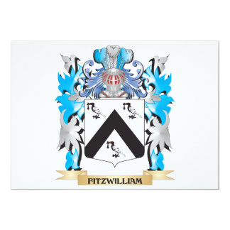 Fitzwilliam Coat of Arms - Family Crest Personalized Invite