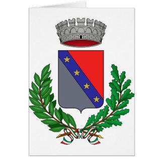 Fiume Veneto Stemma, Italy Greeting Card