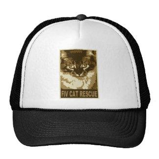 fiv-cat-rescue_2 trucker hat