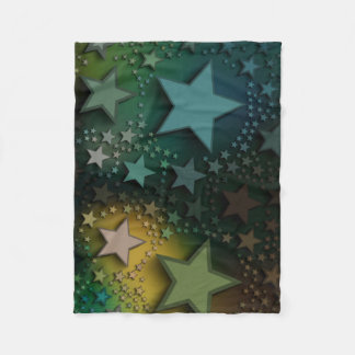 Five 5 - Stars (Perfect Fit) Baby Blanket